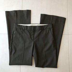 Theory Brown Wool Stretch Straight Leg Pants P168